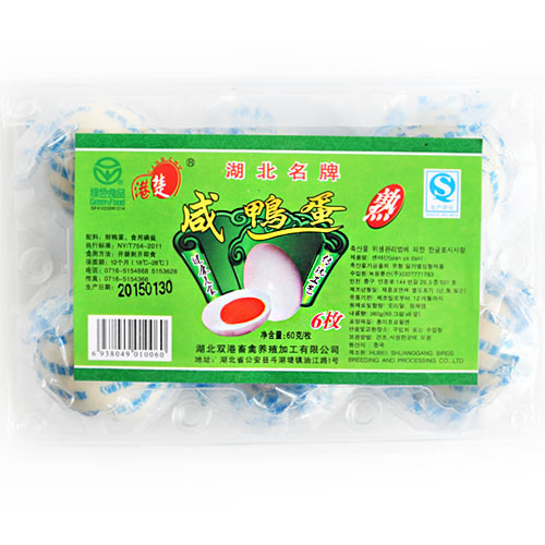 찐오리알 360g /steamed duck egg/made in china